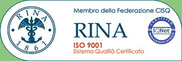 Certificazione RINA ISO 9001